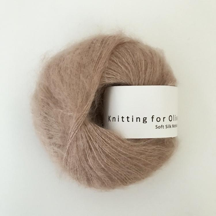 Knitting For Olive Soft Silk Mohair Champignonrosa