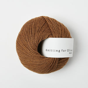 Knitting for Olive Merino Lys Cognac garn