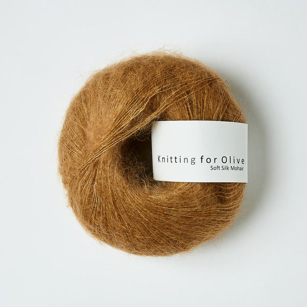 Knitting for Olive Soft Silk Mohair Karamel GarnGalore.dk