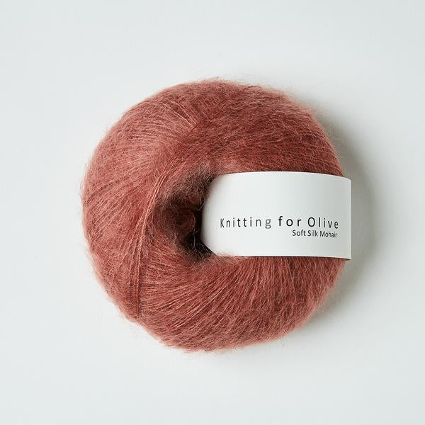 Knitting For Olive Soft Silk Mohair Blommerosa