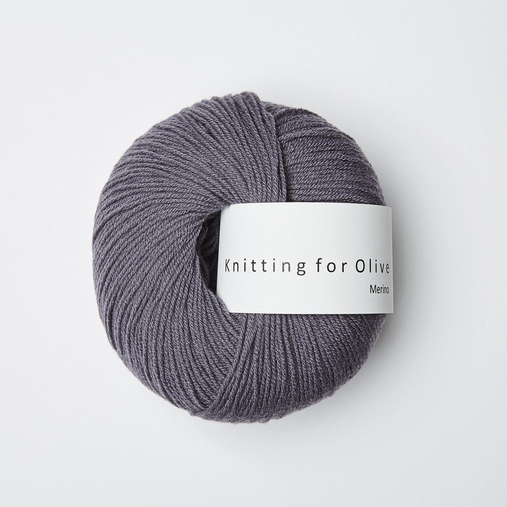 Knitting for Olive Merino Støvet Viol