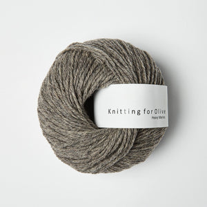 Knitting for Olive HEAVY Merino Støvet Elg
