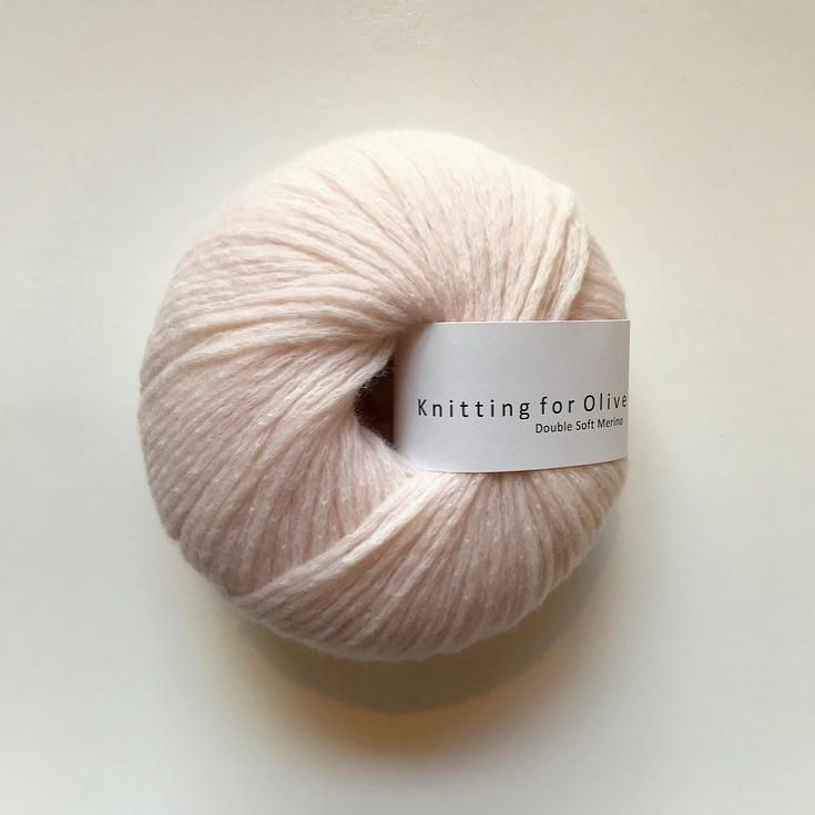 Knitting for Olive Double Soft Merino Champignonrosa garn