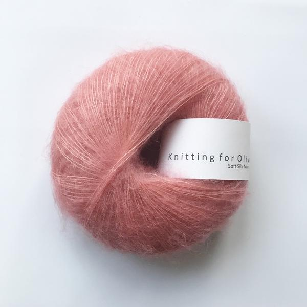 Knitting For Olive Soft Silk Mohair Flamingo