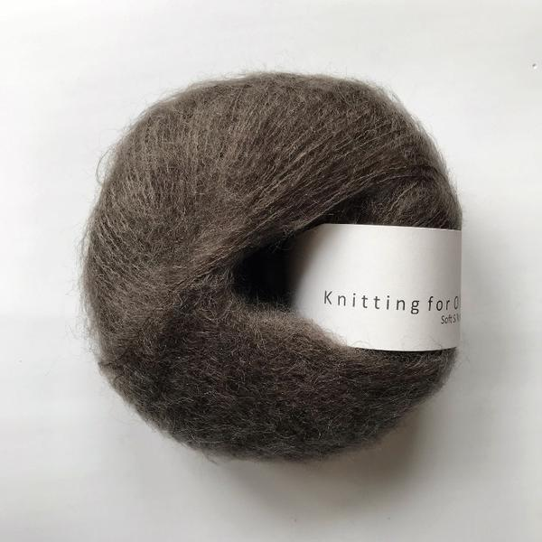 Knitting For Olive Soft Silk Mohair Mørk Elg