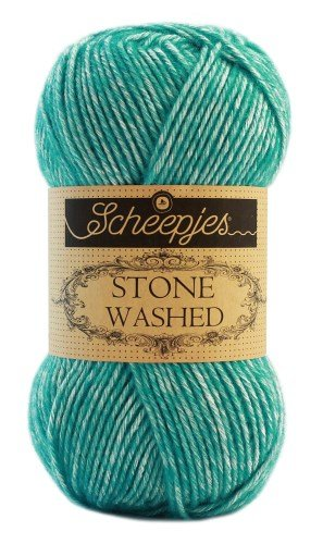 Scheepjes Stone Washed 824 Turquoise