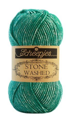 Scheepjes Stone Washed 825 Malachite garn