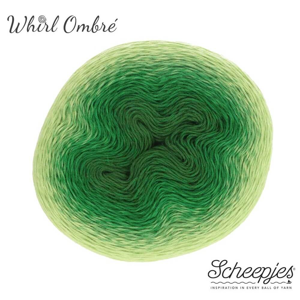 Scheepjes Whirl The Ombré Collection Sippy Sage 561