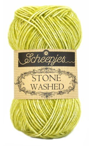 Scheepjes Stone Washed 812 Lemon Quartz garn