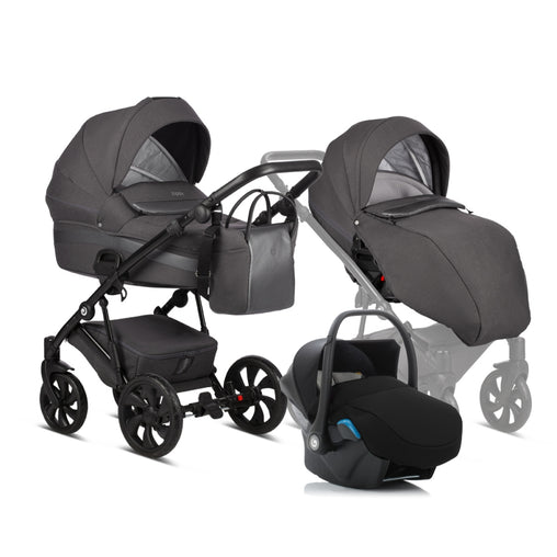 Tutis Zippy 3in1 (157 Dark Grey)