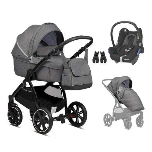Noordi Fjordi 3in1 Dark grey  (813)