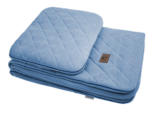 SLEEPEE blanket with pillow (blue)