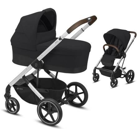 CYBEX Balios S Lux 2 in 1 Deep Black/silver