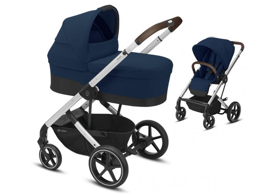 CYBEX Balios S Lux 2 in 1  Navy Blue/silver