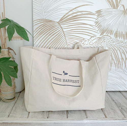 Organic Cotton Tote Bag - True Harvest