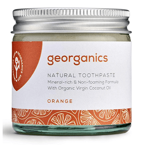 Georganics Natural Mineral-rich Toothpaste - Orange 60ml - True Harvest