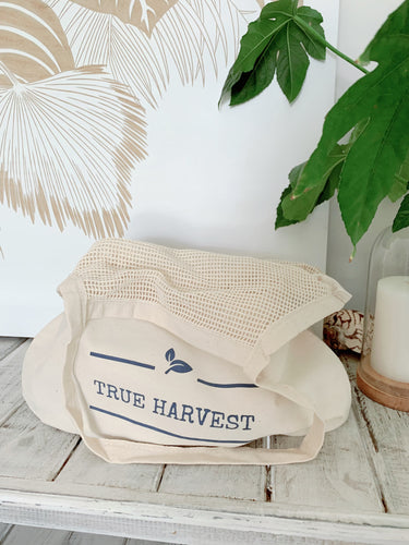 Mixed String Tote Shopping Bag - True Harvest