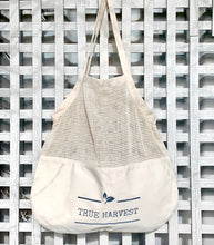 Load image into Gallery viewer, Organic Cotton Mixed String Tote Bag - True Harvest