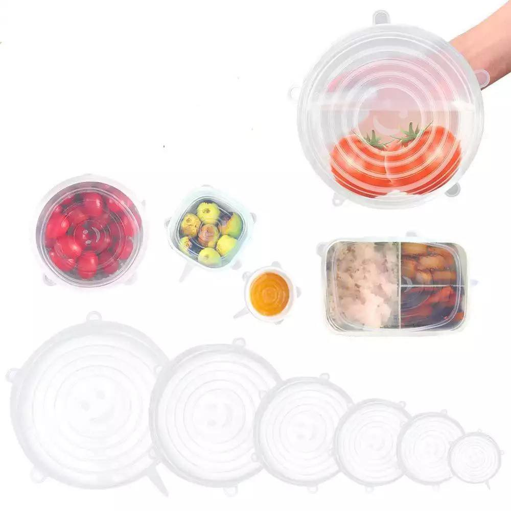Reusable Silicone Lid Set - True Harvest