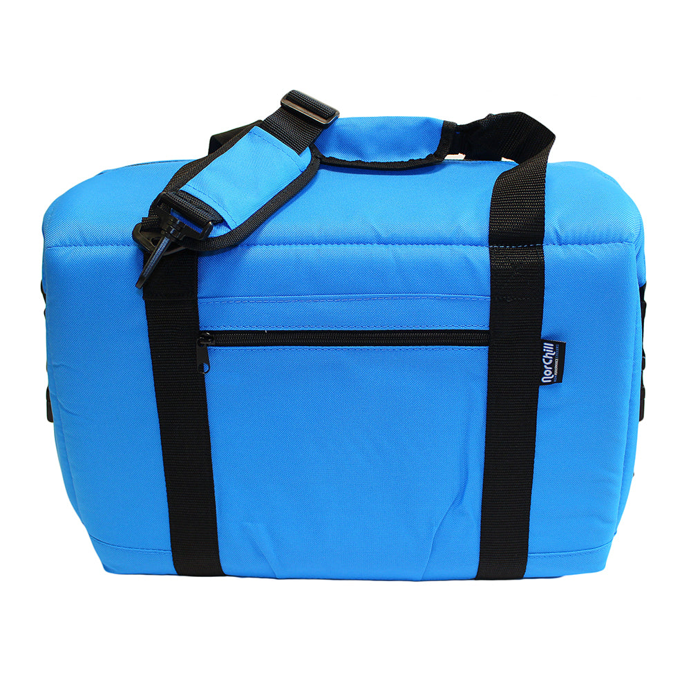 NorChill 24 Can Soft Sided Hot-Cold Cooler Bag - Blue [9000.51]