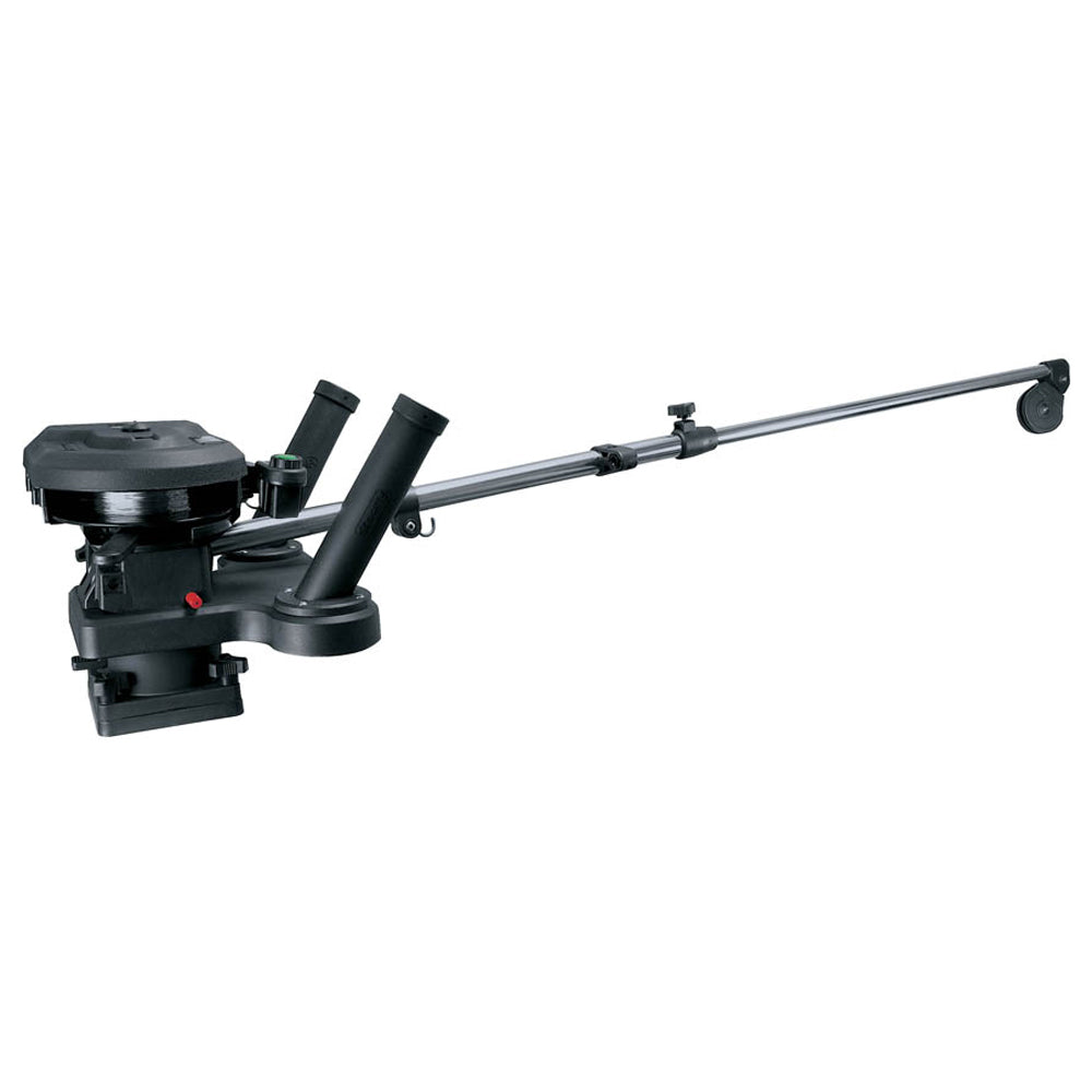 "Scotty 1116 Propack 60"" Telescoping Electric Downrigger w- Dual Rod Holders and Swivel Base [1116]"