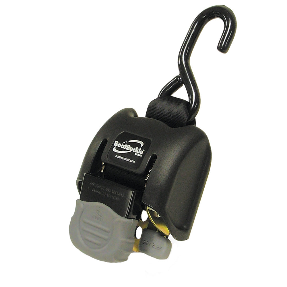 "BoatBuckle G2 Retractable Transom Tie-Down - 14-43"" - Pair [F08893]"