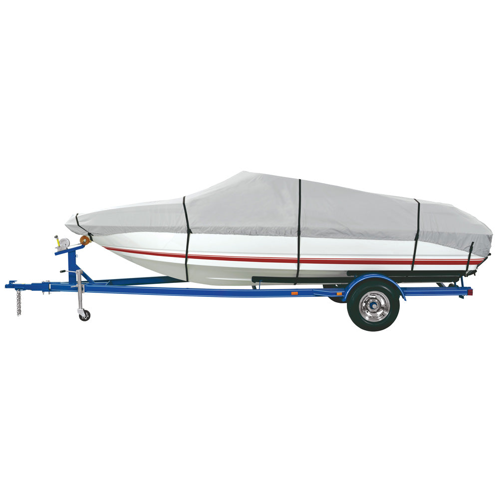 "Dallas Manufacturing Co. Heavy Duty Polyester Boat Cover E 20'-22' V-Hull Runabouts - Beam Width to 100"" [BC2101E]"