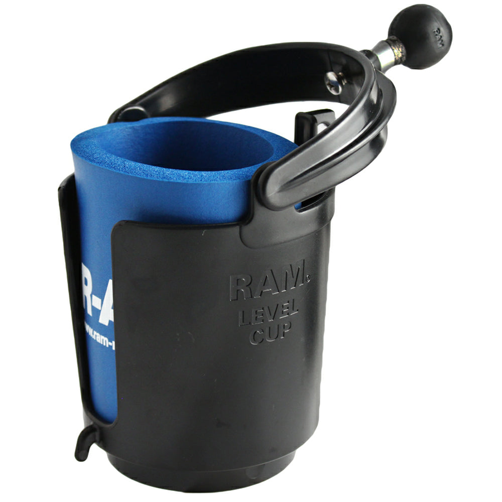 "RAM Mount Drink Cup Holder w-1"" Ball [RAM-B-132BU]"