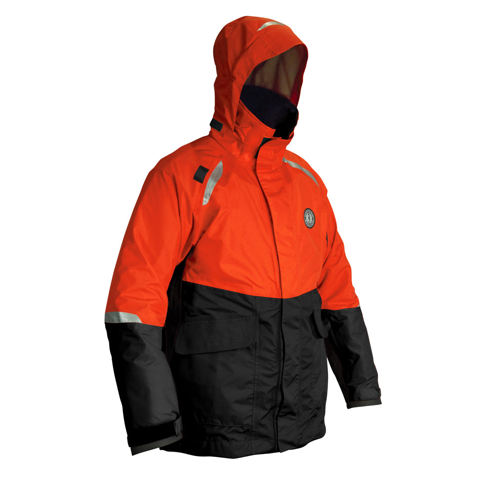 Mustang Catalyst Coat - Large - Orange-Black [MC5444-L-OR-BK]
