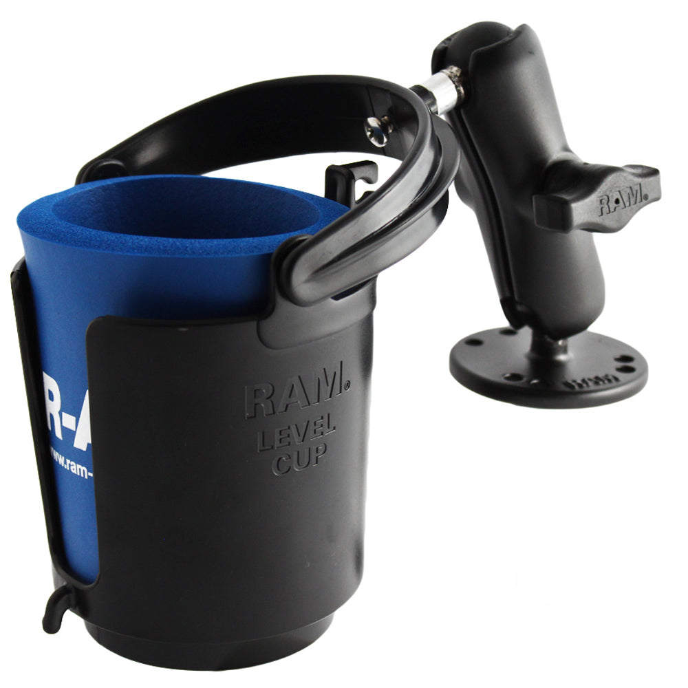 RAM Mount Drink Cup Holder w-Surface Mount [RAM-B-132U]