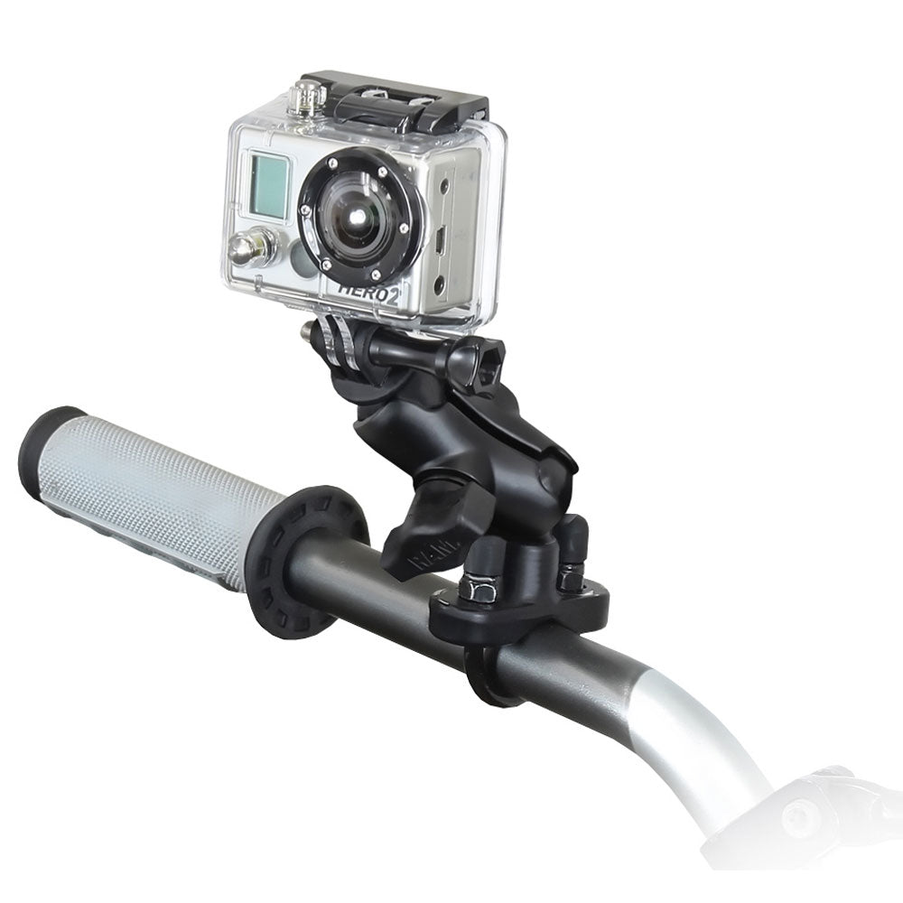 RAM Mount GoPro Hero Short Arm Handlebar Rail Mount [RAM-B-149Z-A-GOP1U]