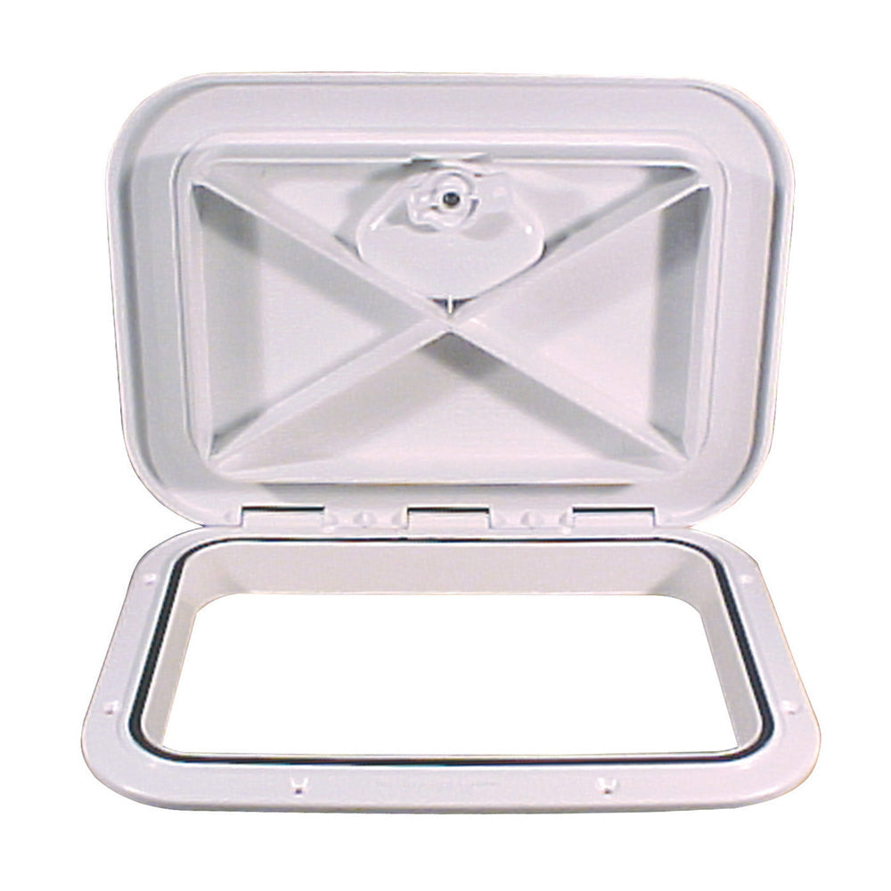 "Beckson 11x15"" Flush Hatch Vertical or Horizontal - White [HT1115-W]"