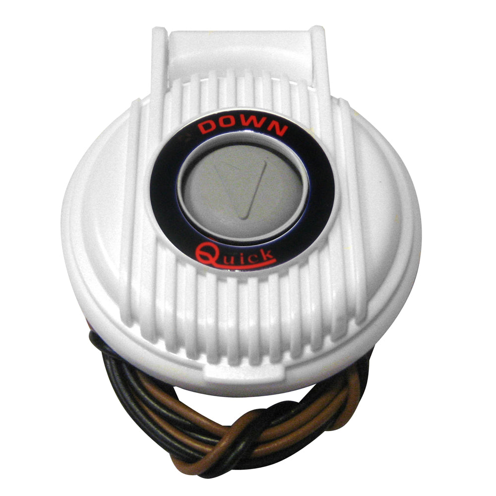 Quick 900-DW Anchor Lowering Foot Switch - White [FP900DW00000A00]