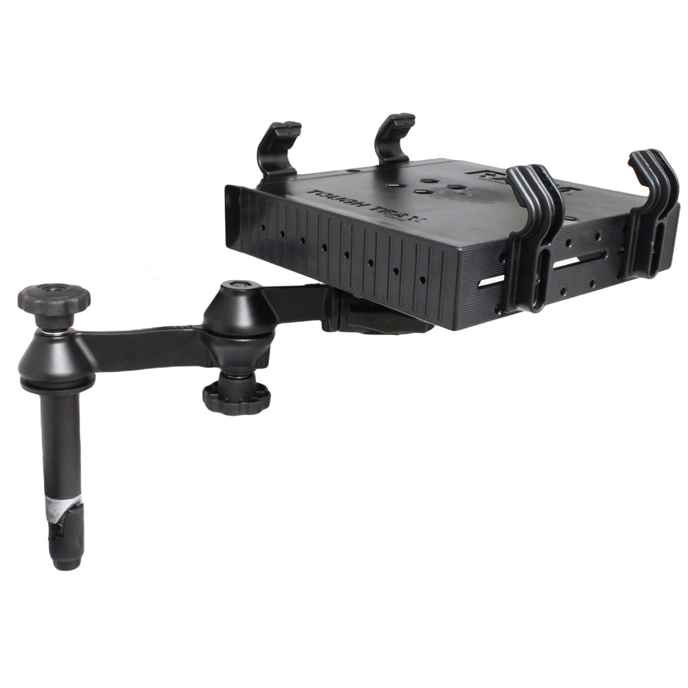 "RAM Mount Double Swing Arm w-4"" Male Tele-Pole - Laptop Tray [RAM-VP-SW1-4-234-3]"