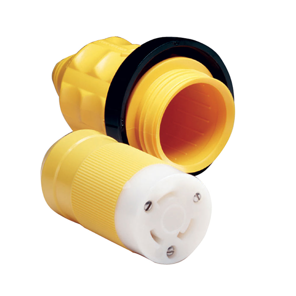 Marinco 305CRCN.VPK 30A Female Connector w-Cover & Rings [305CRCN.VPK]