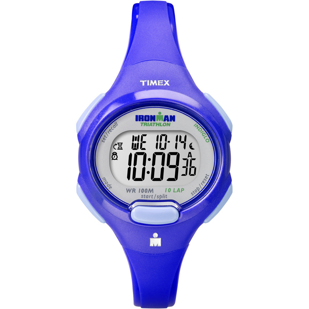 Timex IRONMAN Traditional 10-Lap Mid-Size Watch - Blue [T5K784]