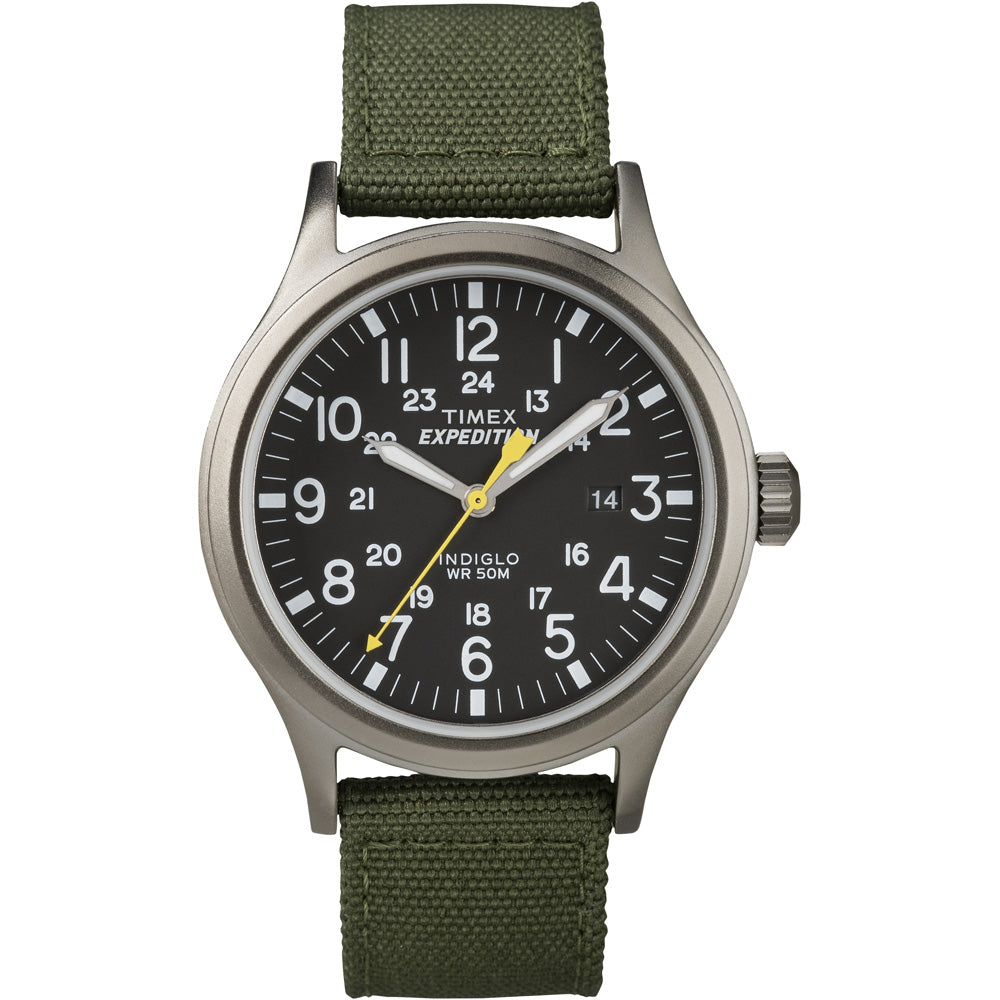 Timex Expedition Scout Metal Watch - Green-Black [T49961]