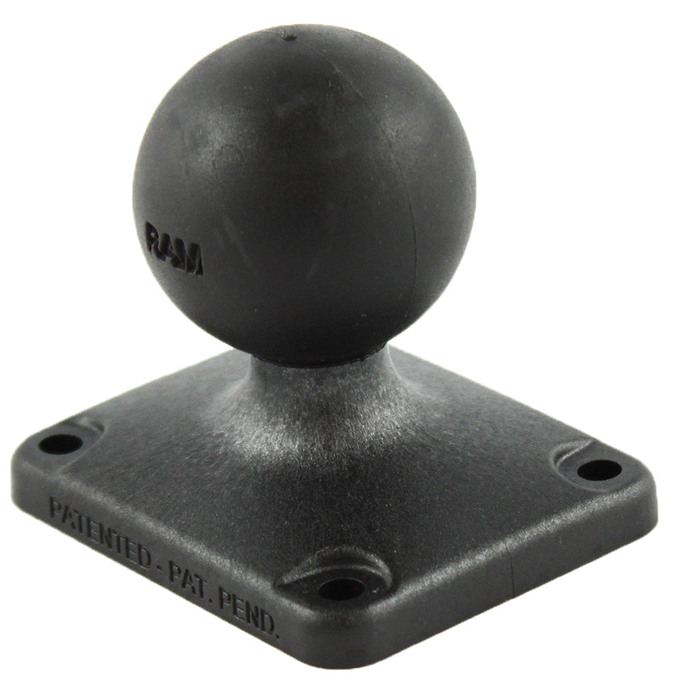 "RAM Mount 2"" x 2.5"" Rectangle Composite Base w-1.5"" Ball [RAP-202U-225]"