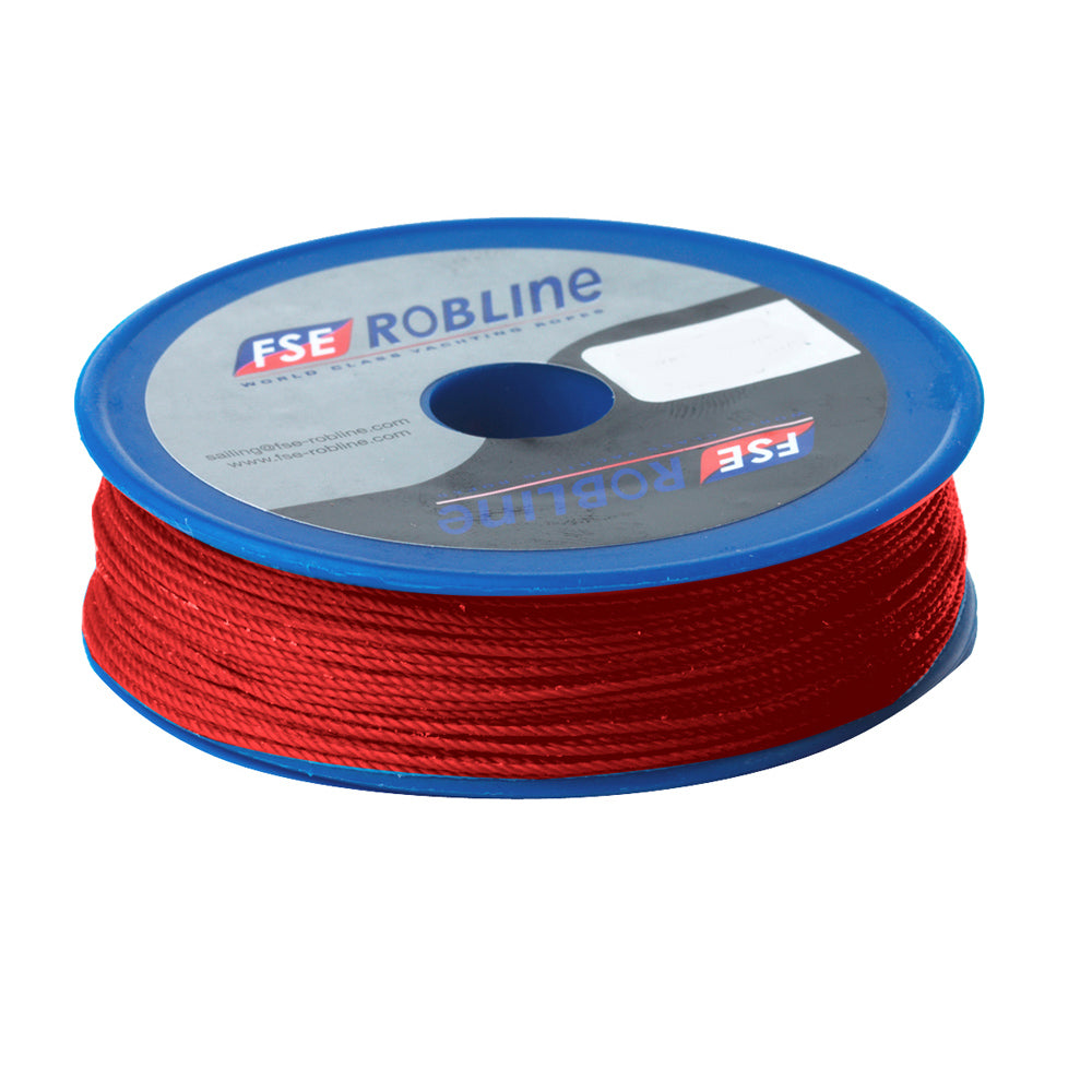 Robline Waxed Tackle Yarn Whipping Twine - Red - 0.8mm x 80M [TY-08RSP]