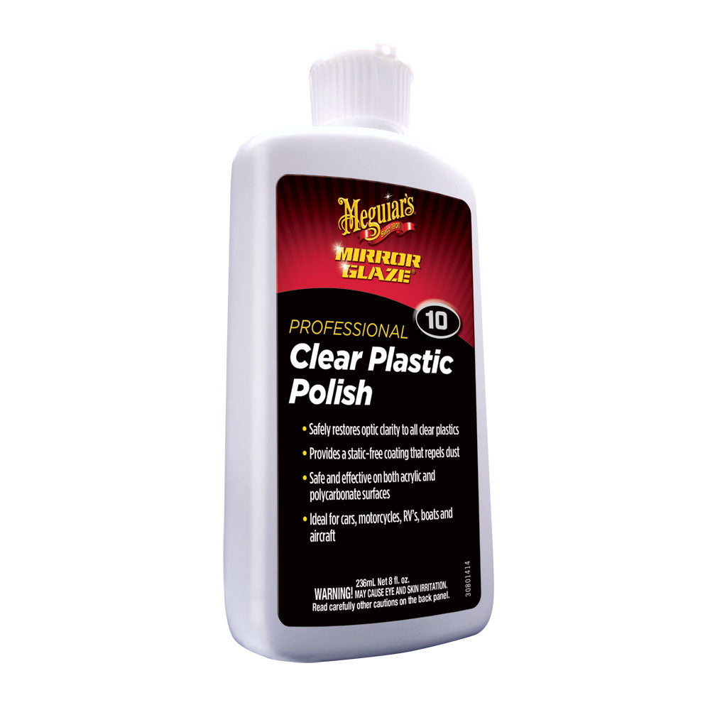 Meguiar's #10 Clear Plastic Polish - 8oz [M1008]