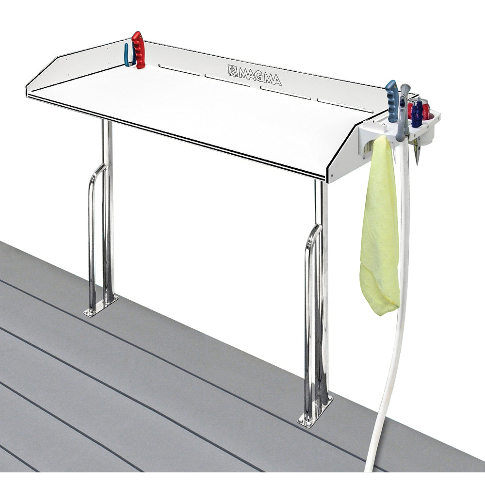 "Magma Tournament Series Cleaning Station - Dock Mount - 48"" [T10-449B-HDP]"