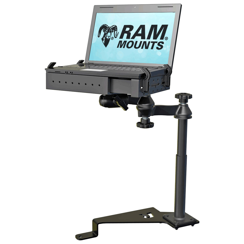 RAM Mount No-Drill Laptop Mount Vehicle System f-2015-2018 Ford F-150 [RAM-VB-195-SW1]