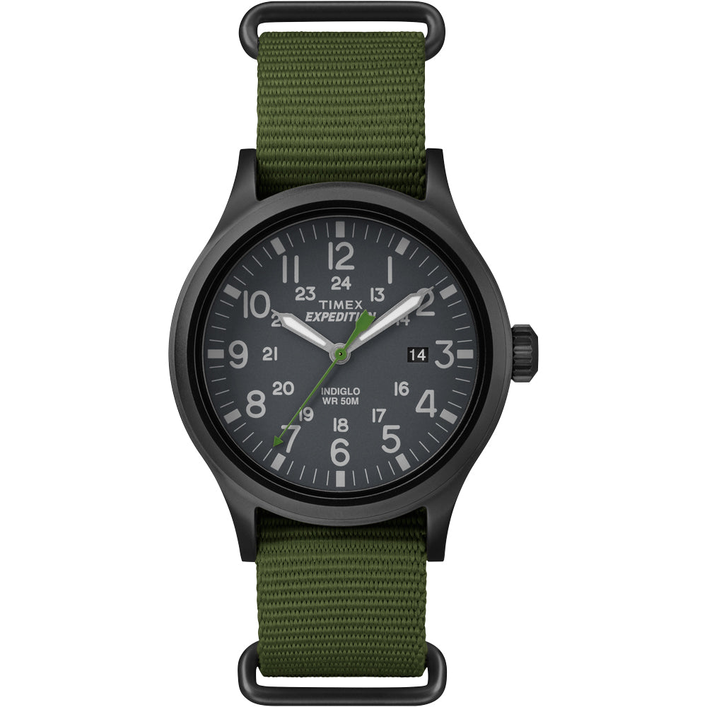 Timex Expedition Scout Slip-Thru Watch - Green [TW4B047009J]
