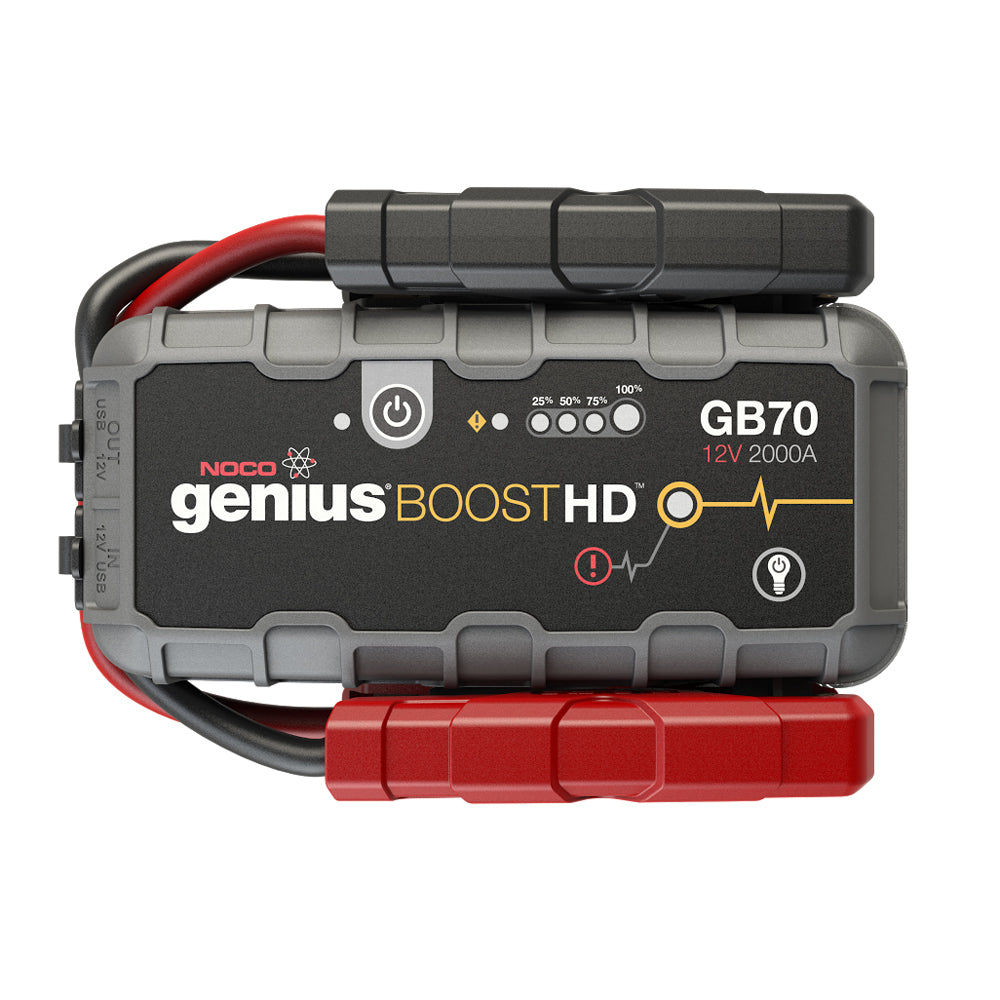 NOCO Genius GB70 Boost HD Jump Starter - 2000A [GB70]