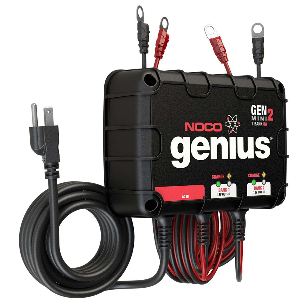 NOCO Genius GEN Mini 2 8A Onboard Battery Charger - 2 Bank [GENM2]