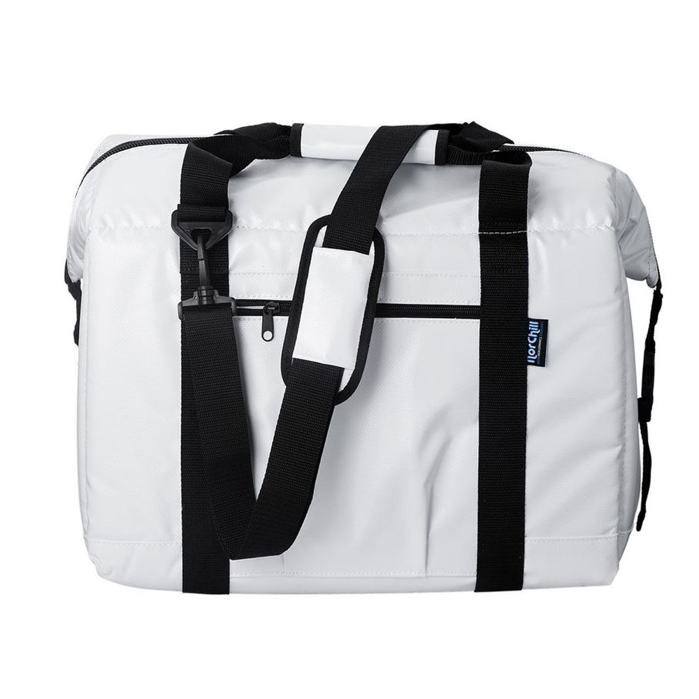NorChill BoatBag Large 48-Can Marine Cooler Bag - White Tarpaulin [9000.65]