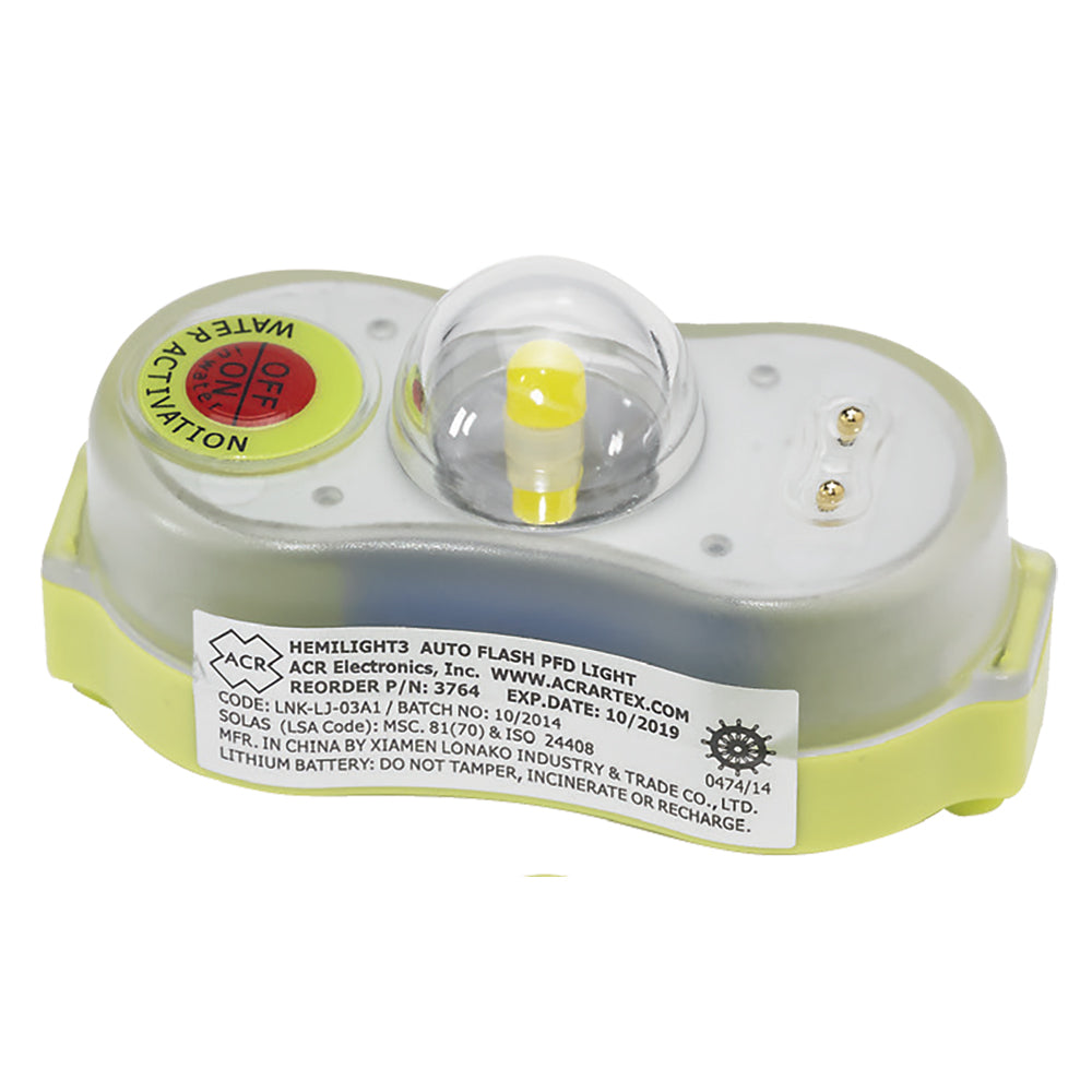 ACR HemiLight 3 - Automatic Survivor Locator Light [3764.1]