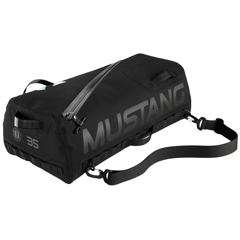 Mustang Greenwater 35L Waterproof Deck Bag - Black [MA2611-13]