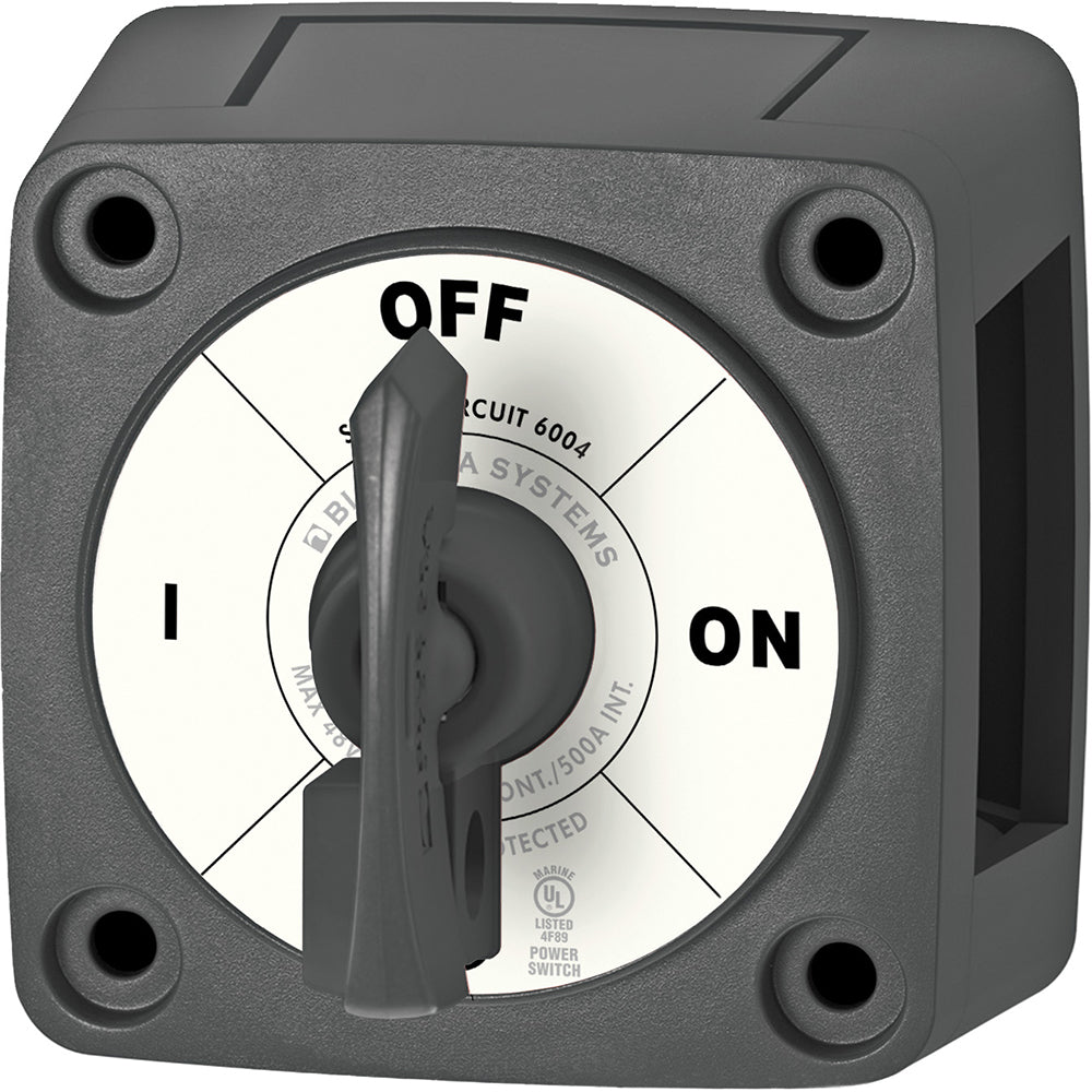 Blue Sea 6004200 Single Circuit ON-OFF w-Locking Key - Black [6004200]