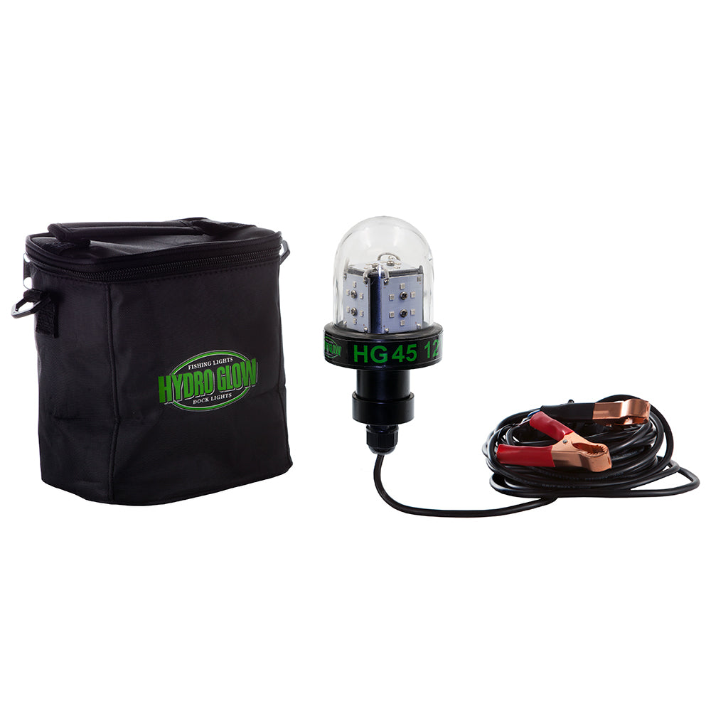 Hydro Glow HG45 45W-12V Deep Water LED Fish Light - Green Globe Style [HG45]